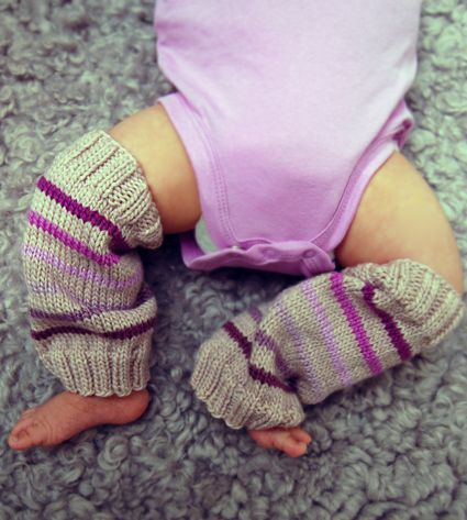 Baby Leg Warmers for Mila - the purl bee