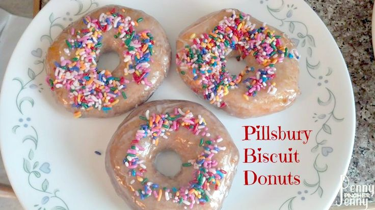 Pillsbury Biscuit Donuts Easy & Delicious Treat! - Penny Pincher Jenny