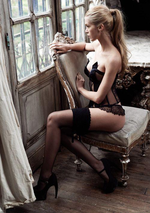 #vintage #lace  #lingerie #retro #seductive #sexy #meow #Seductress #garters #stockings