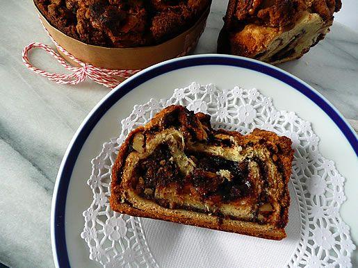 YEASTED - SWEET  Raspberry Chocolate Babka