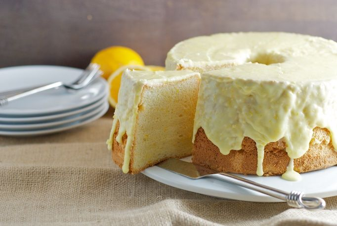 Orange Chiffon Cake - going to try to make a gluten free version of ...