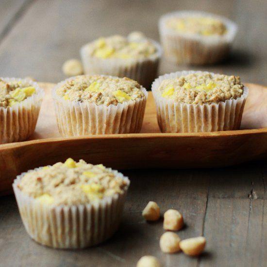 Gluten-Free Pineapple Coconut Muffin Recipe — Dishmaps
