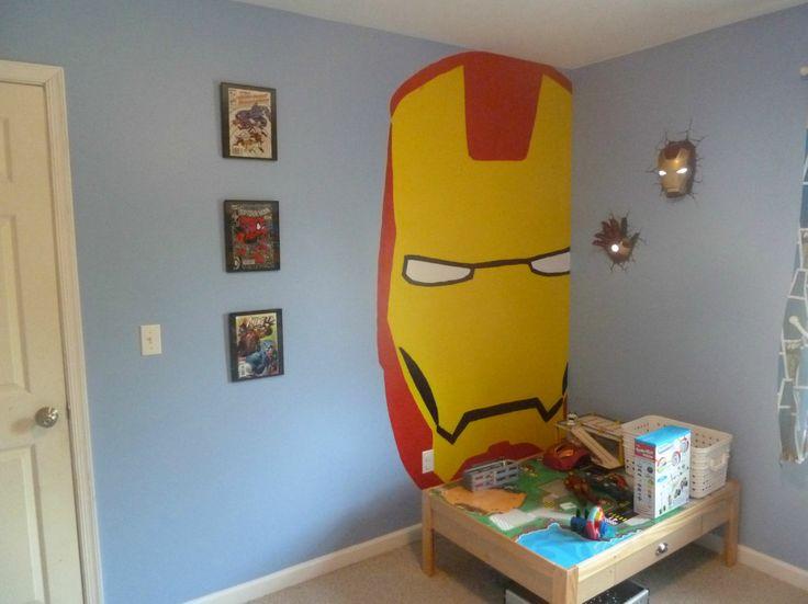 Comavengers Kids Room : Avengers Kids Room  Nursery  Pinterest