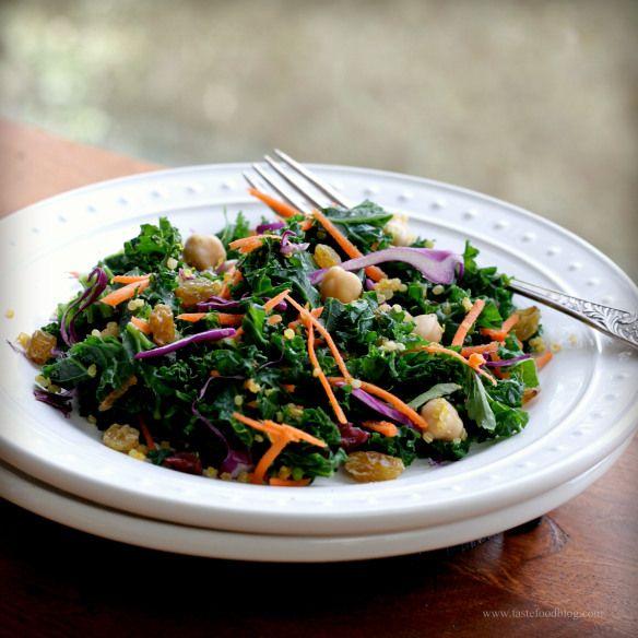 kale quinoa salad | Eat it! | Pinterest