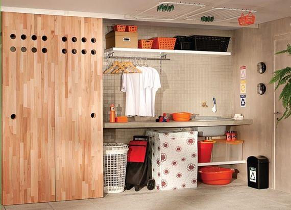 Organize e decore a lavanderia!