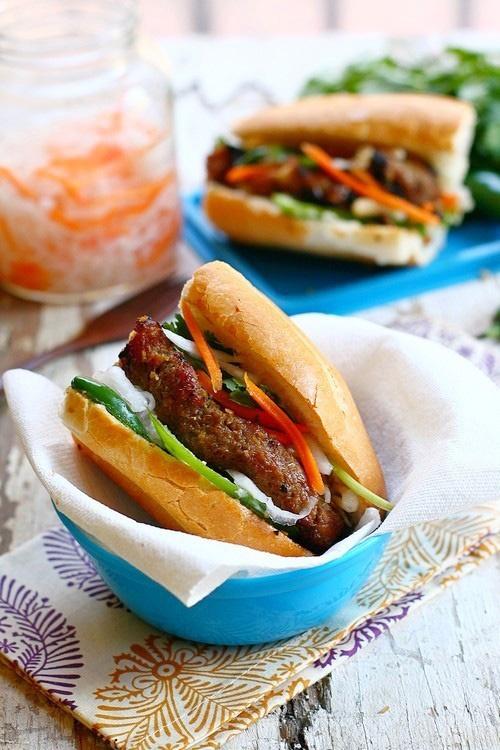 Banh Mi with Lemongrass Pork