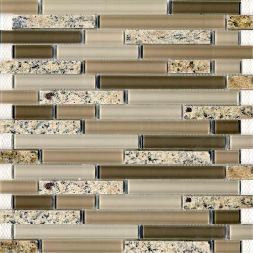 epoch tile desert gold random glass mosaic wall tile at menards