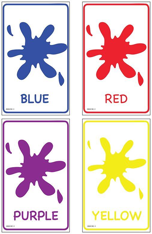 Color Flash Cards | Preschool | Pinterest