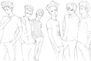 Kpop Chibi Coloring Pages Coloring Pages Coloring Pages Kpop