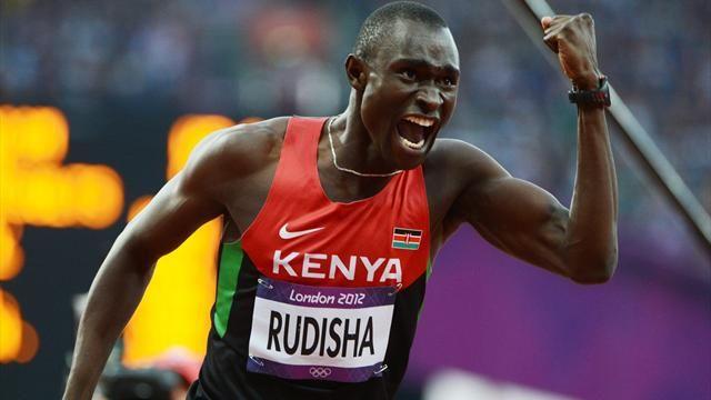 """David Rudisha 800m en or avec le record du monde (1'40""""91) !"""