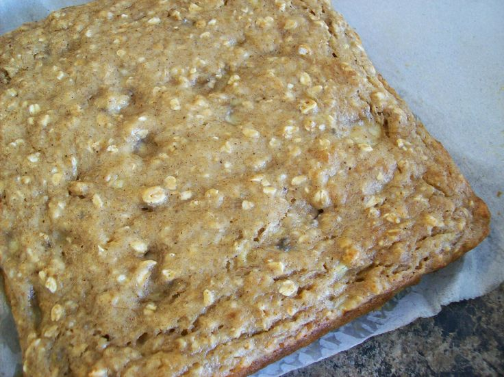 Oatmeal Blondies | Cakes&Other yummy things | Pinterest