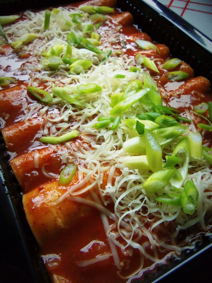 Turkey and Black Bean Enchiladas - Hispanic Kitchen... great use for ...