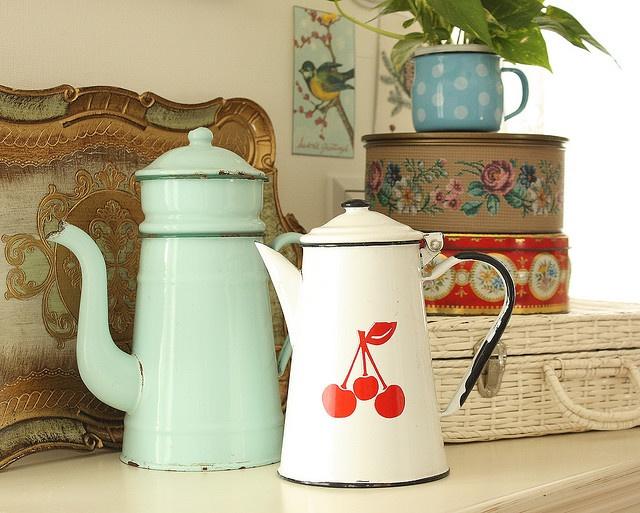 Enamelware Coffee Pots