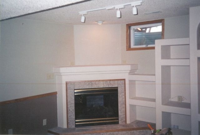 corner fireplace living room pinterest