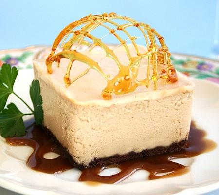 caramel-macchiato-cheesecake | food/drink | Pinterest