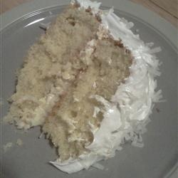 Fresh Coconut Layer Cake | Baking | Pinterest