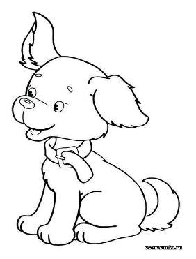 Форма собаки рисунок