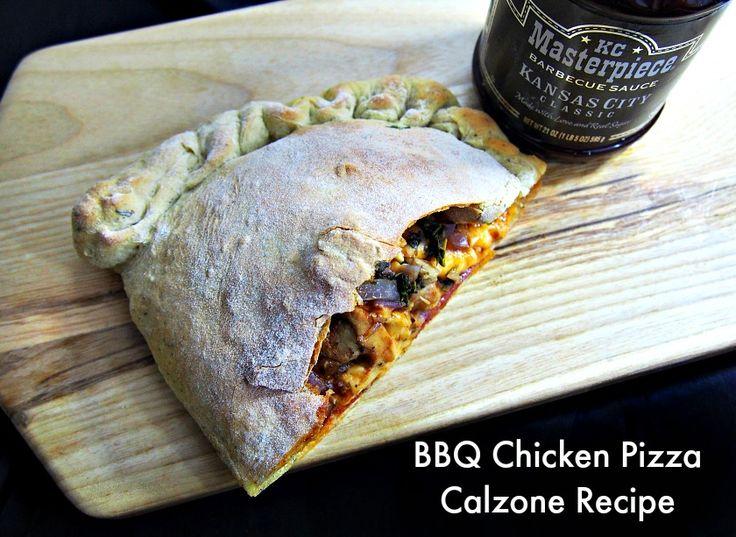 ... Party-Pleasing Twist on Pizza Night: BBQ Chicken Pizza Calzone Reci