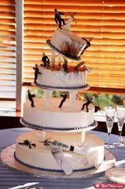 wedding cake disasters  funny wedding pic...