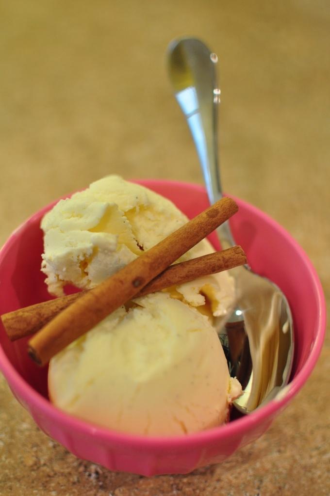 Spiced Vanilla Ice Cream Recipe — Dishmaps