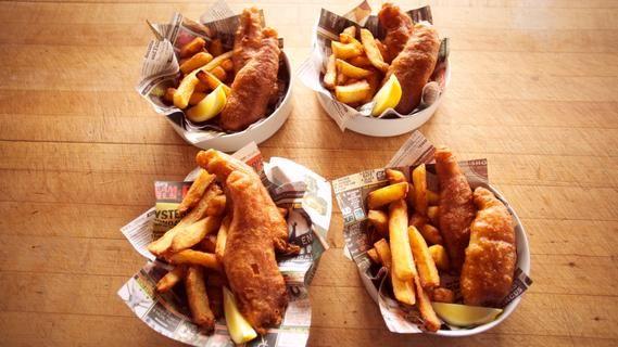 Fish & Chips | Dinner | Pinterest