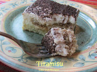 Tiramisu -- the real McCoy | Favorite Recipes | Pinterest