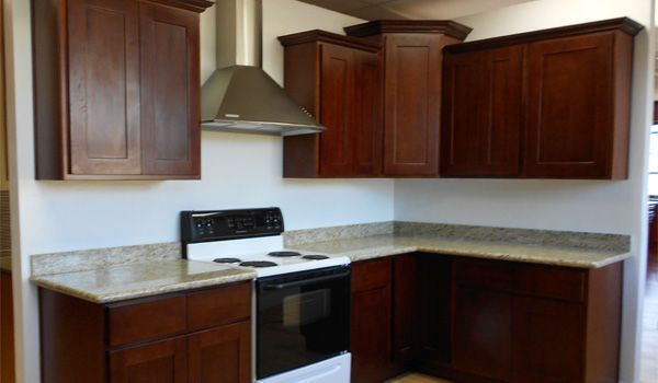 Cinnamon colored kitchen cabinets for Adelphi kitchen cabinets