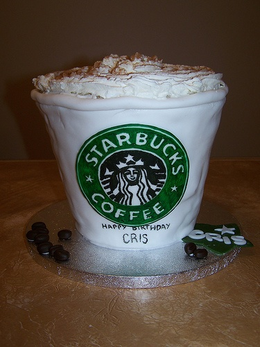 Starbucks | Cute cake ideas | Pinterest