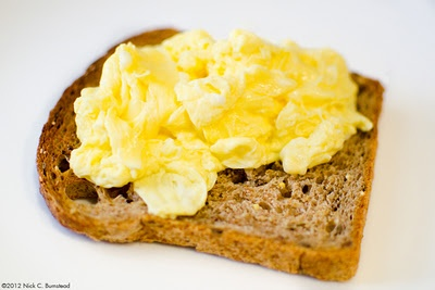Poached Scrambled Eggs on Toast recipe. | cooking and cocktails | Pin ...
