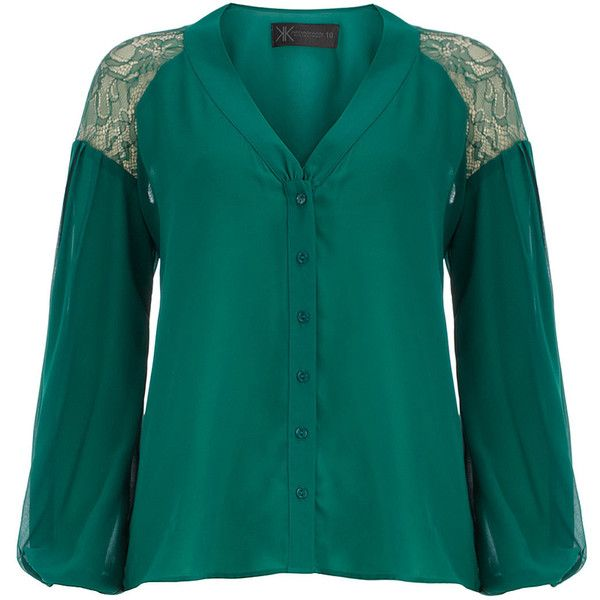 Pinterest Green Blouse 64