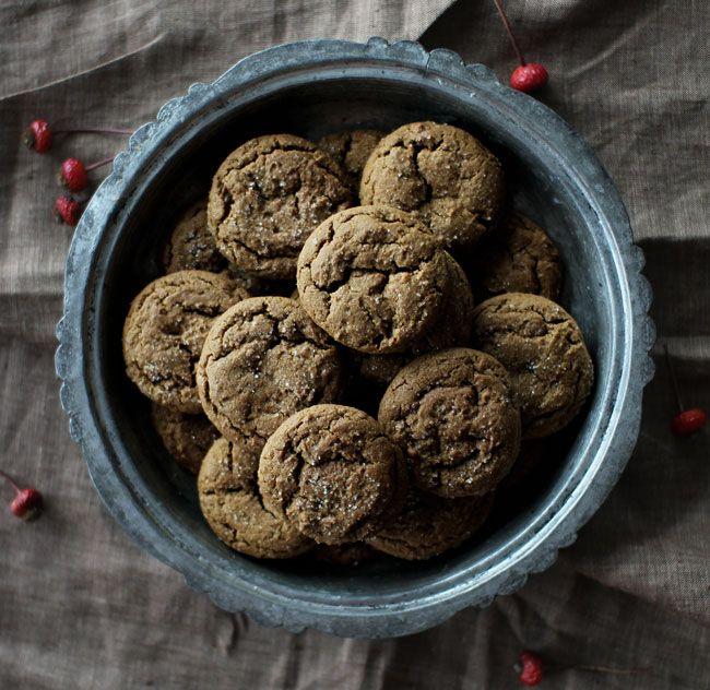 Ginger molasses cookies....yum