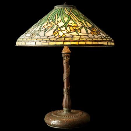 Lampada da tavolo Tiffany Studios  Antiques  Pinterest