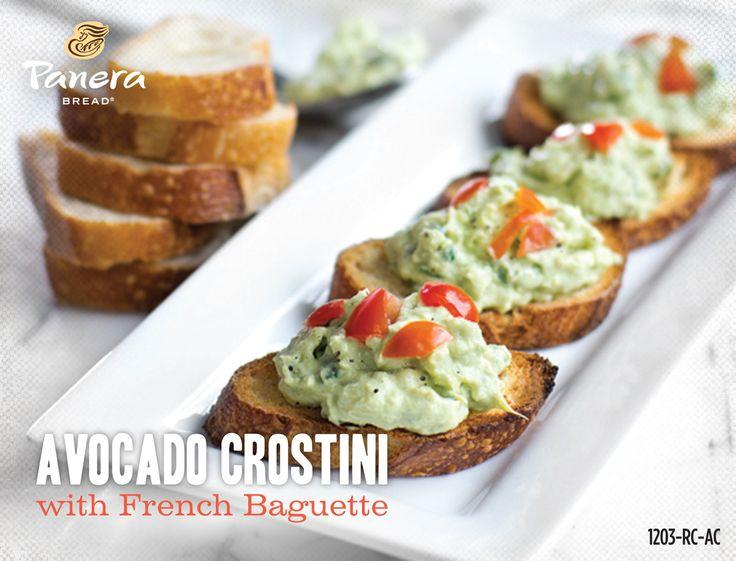 panera bread avocado crostini. | CopyCat Recipes | Pinterest