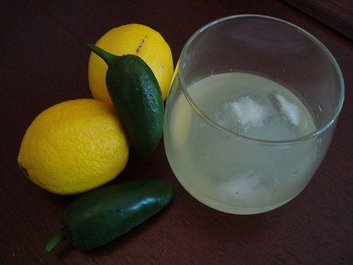 Jalapeno Lemonade recipe. Sweet, spicy, and thoroughly refreshing!