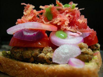 Black Eyed Peas Burgers - KBC & SRK | food-sammies | Pinterest