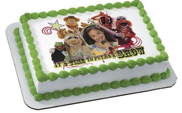 muppet cake topper