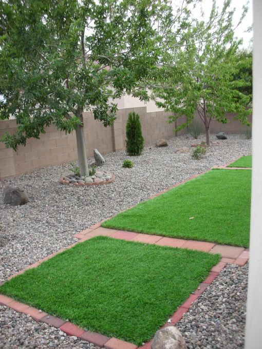 Xeriscaping Ideas  Xeriscaped Albuquerque Backyard, This is our 1st