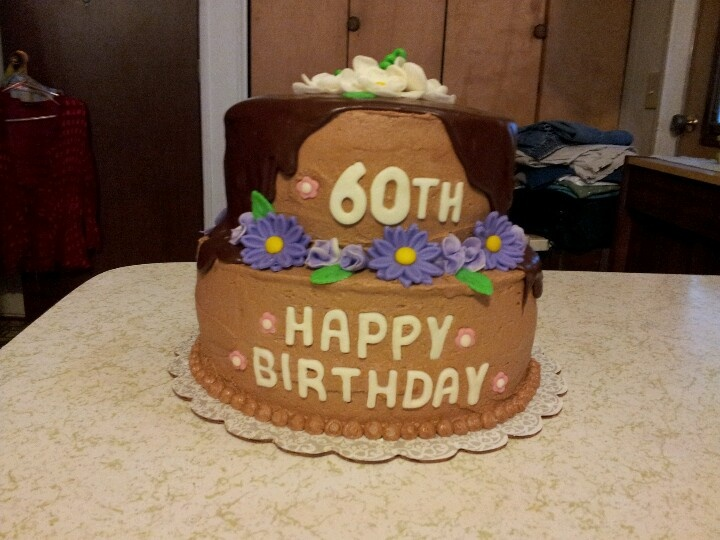 60th Birthday Cake for my Sister..  Cake Art by Goodfairy Cakes ...