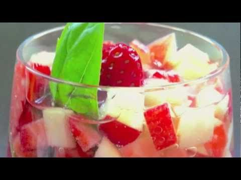 Strawberry Basil Sangria | Sippy Cup Summer: Sangria | Pinterest