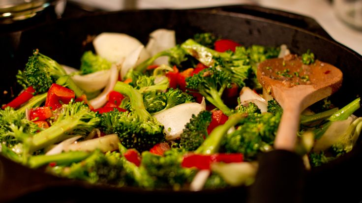 Spicy Stir-Fried Broccoli Stems Recipe — Dishmaps