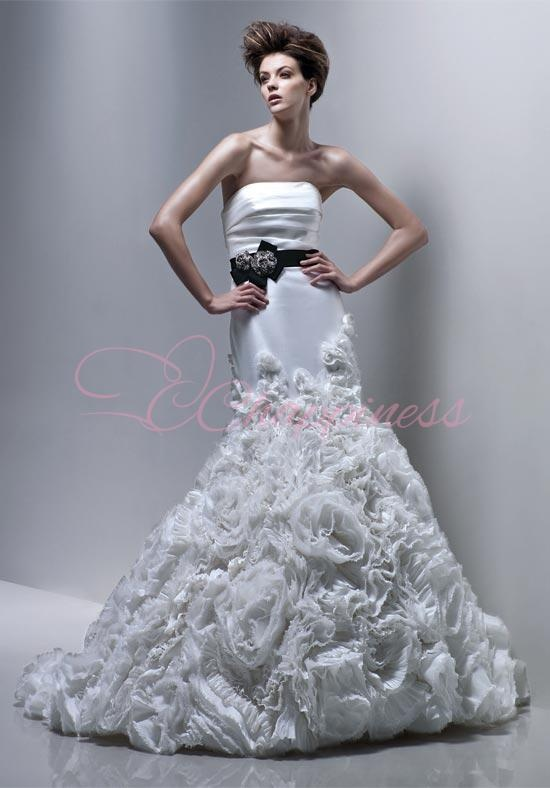 Wedding Dress Love The Black Sash Wedding Dresses Pinterest