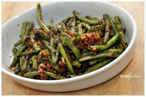 Dry Fried Green Beans | I Collect Recipes 2013 | Pinterest