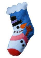 Felt Applique Christmas Stocking at SHOP.COM