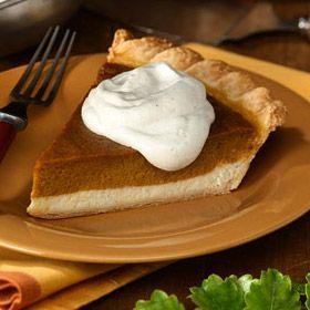 Pumpkin Cream Pie | Recipe