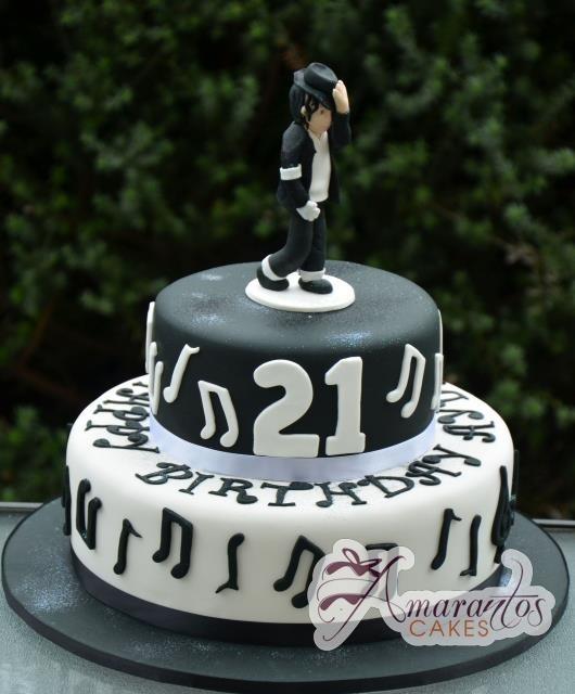 Michael Jackson cake @ Amarantos