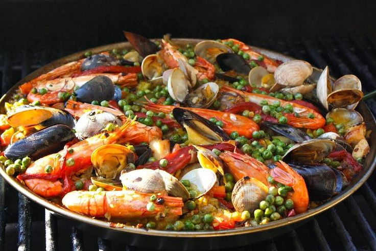 Seafood Recipes : Paella Recipe | food | | Pinterest