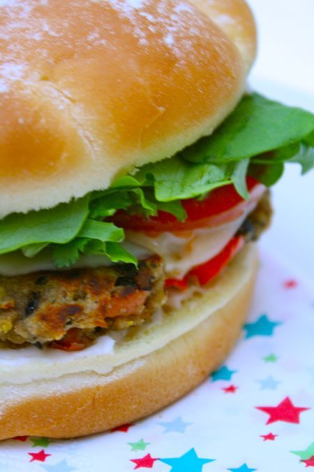 Black Bean Burgers | Get in my belly! | Pinterest