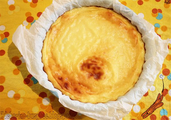 Easy Ricotta Cheese Cake | Baking | Pinterest