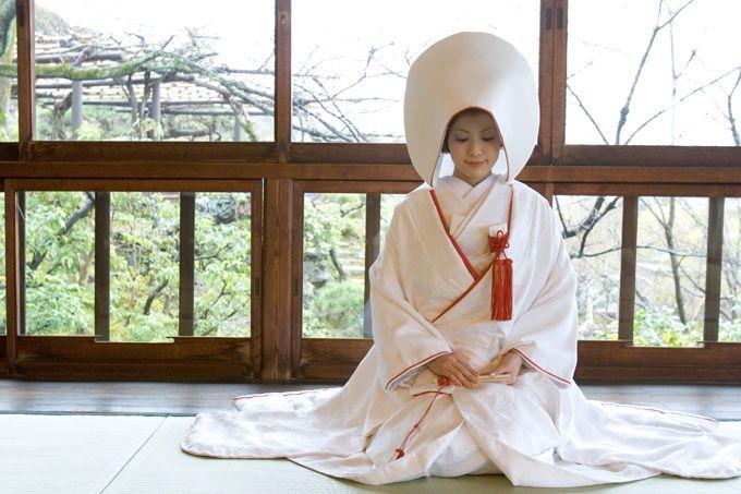 Japanese wedding style.
