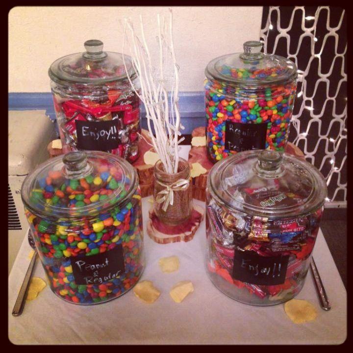Candy bars at weddings candy bar wedding favor weddings